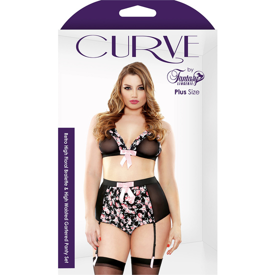 CURVE THE RETRO FLORAL CONJUNTO (1X/2X - )