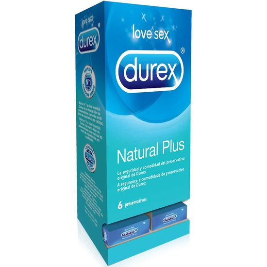 DISPENSADOR DUREX NATURAL PLUS 6 UDS (27 CAJAS)