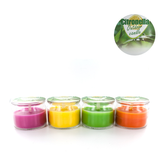 KIT MINI VELAS CITRONELLA