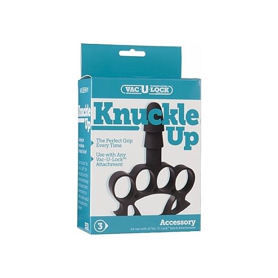 VAC-U-LOCK DILDO KNUCKLE UP (1)