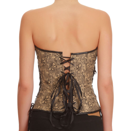 CORSET BUTTERFLY NEGRO