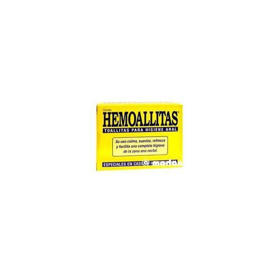 HEMOALLITAS TOALLITAS HIGIENE ANAL 15 UD