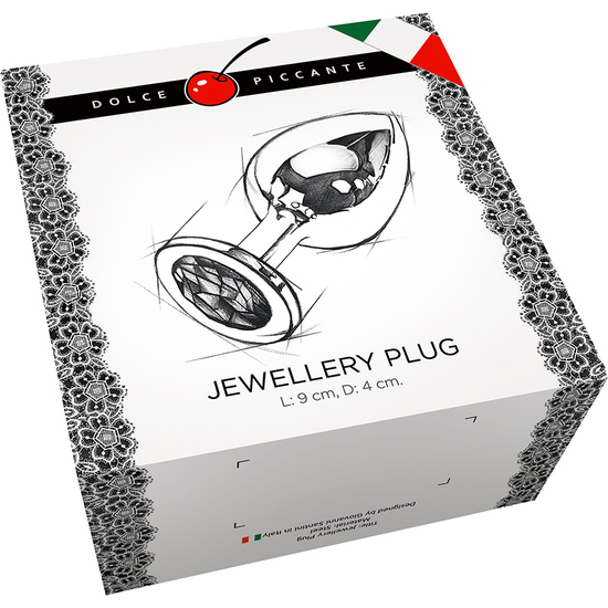 PLUG ANAL JEWELLERY LARGE ORO / DIAMANTE (1)