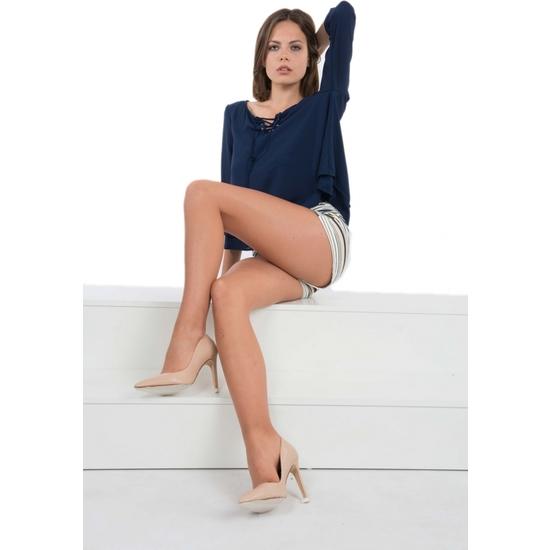 PANTY LICRA RELAX 30 DEN LOTE DE 2 COLOR BEIGE (M - )