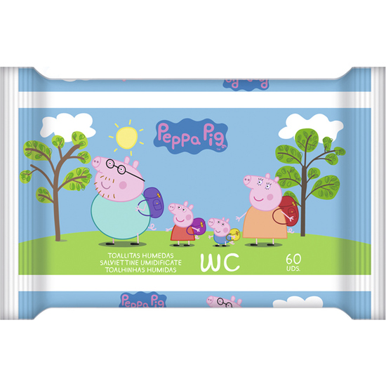 TOALLITAS WC JUNIOR 60UD PEPPA PIG (2)