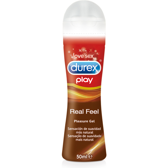 DUREX REAL FEEL PLEASURE GEL LUBRICANTE INTIMO 50ML