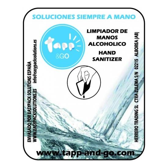 HAND SANITIZER LIMPIAMANOS CAJA 50 UNIDADES 1 ML (2)