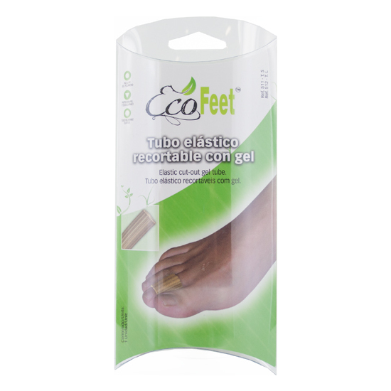 ECO FEET TUBO ELASTICO RECORTABLE CON GEL