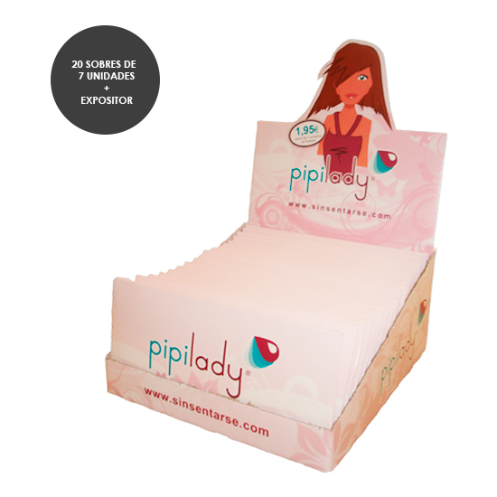 PIPILADY EXPOSITOR CON 20 PACKS