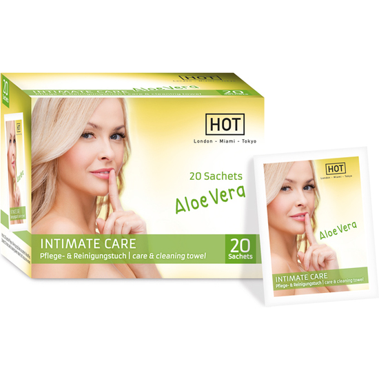 HOT INTIMATE CARE TOALLITAS HIGIENE INTIMA