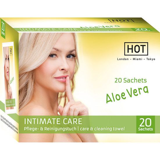 HOT INTIMATE CARE TOALLITAS HIGIENE INTIMA (1)