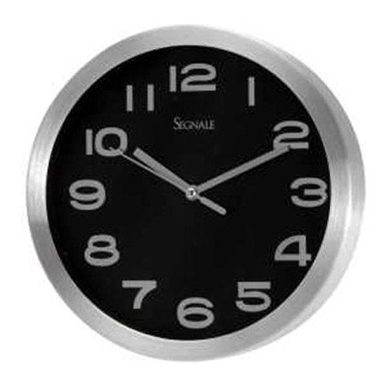 Reloj de pared grande negro - Reloj grande de pared ...