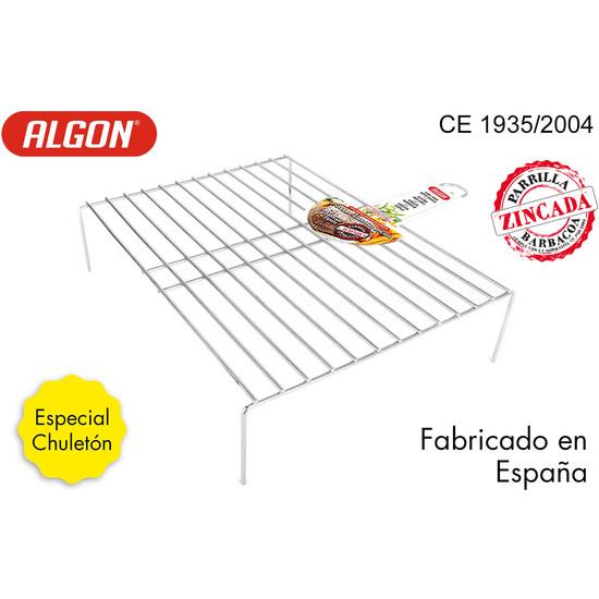 De Confianza Parrilla ChuletÓn NЄ4 49,5x38x55cm Doble Zinc