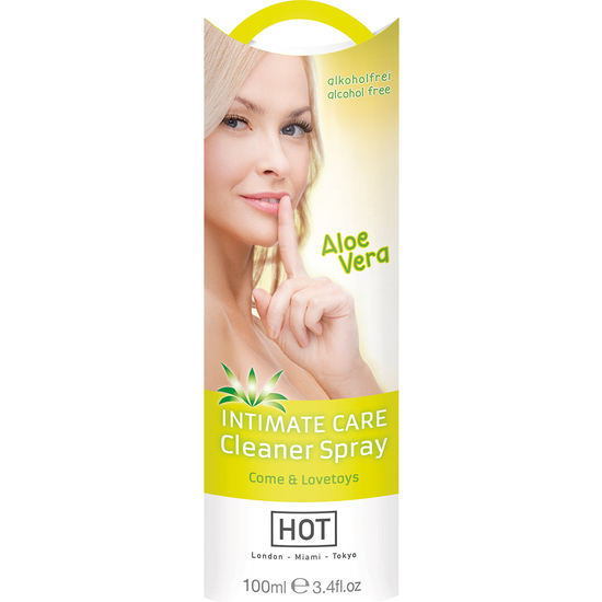 HOT INTIMATE SPRAY LIMPIADOR 100 ML