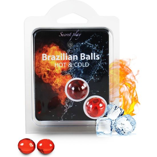 SECRET PLAY SET 2 BRAZILIAN BALLS FRÍO/CALOR