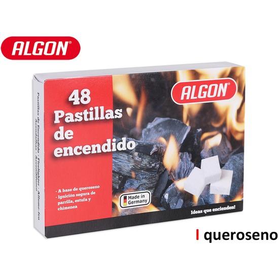 PASTILLA ENCENDER FUEGO 48PCS ALGON