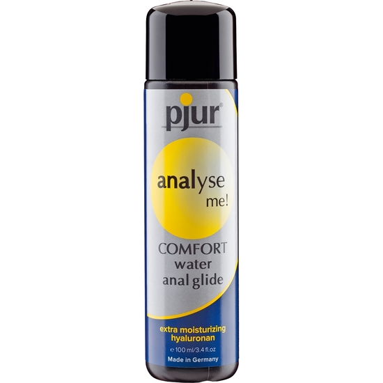 PJUR ANALYSE ME COMFORT WATER ANAL GLIDE 100 ML