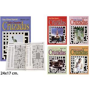 CRUZADAS MODELOS SURTIDOS, 24X17CM.