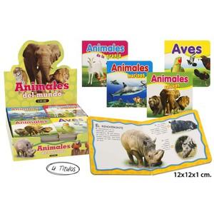 LIBRO ANIMALES DEL MUNDO SURTIDO, SERVILIBRO