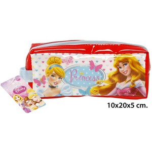 ESTUCHE ESCOLAR, DISNEY, -PRINCESS-, 10X20X5CM.