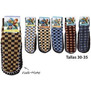 CALCETINES WALK-HOME INFANTIL TALLAS 30-35 COLORES SURTIDOS, WAT, 1 PAR