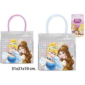 BOLSO INFANTIL PVC PRINCESS MODELOS SURTIDOS, DISNEY, 31X21X10CM.