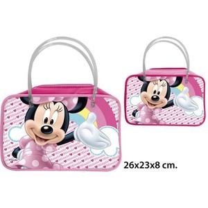 BOLSO INFANTIL PVC MINNIE MODELOS SURTIDOS, DISNEY, 26X23X8CM.