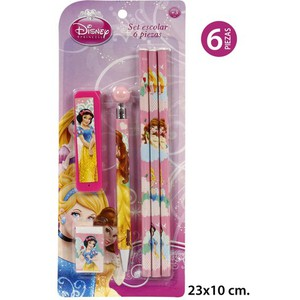 SET ESCOLAR, DISNEY, -PRINCESS-, 6UDS.