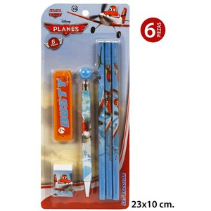 SET ESCOLAR, DISNEY, -PLANES-, 6UDS.