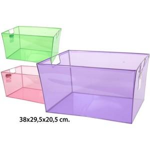 ORGANIZADOR PVC SURTIDO, CONFORTIME, 38X29,5X20,5CM.