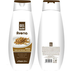 GEL DE BAÑO, NATURAL CARE, -AVENA-, 750ML.