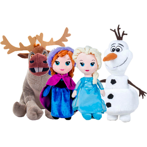 KIT PELUCHES FROZEN 30 CM