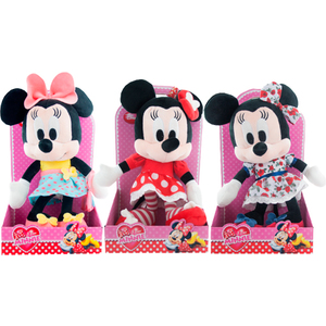 KIT PELUCHES COLECCION I LOVE MINNIE 25 CM