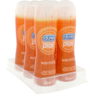 DUREX PLAY WARMING 50 ML (6 UDS)