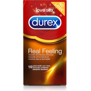 DUREX REAL FEELING 10 UDS (6 CAJAS)