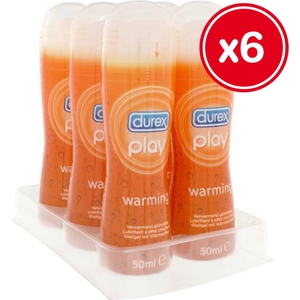 DUREX PLAY WARMING 50ML (6 UDS)