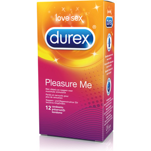 DUREX PLEASURE ME 6 X 12 PCS