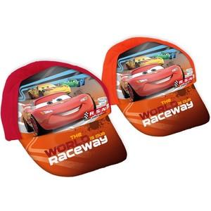 GORRA TELA CARS ROJO