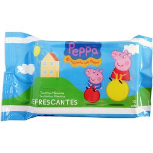 TOALLITAS FRESH 12UD PEPPA PIG
