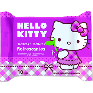 TOALLITAS FRESH 10UD HELLO KITTY