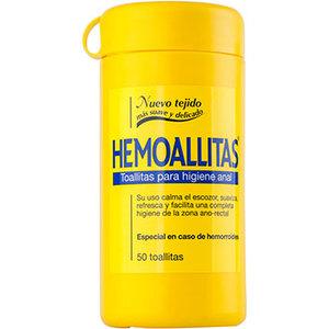 HEMOALLITAS TOALLITAS PARA LA HIGIENE ANAL 50 UDS