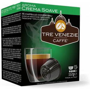 TRE VENEZIE CAFFE - AROMA CREMA SOAVE 16 CÁPSULAS