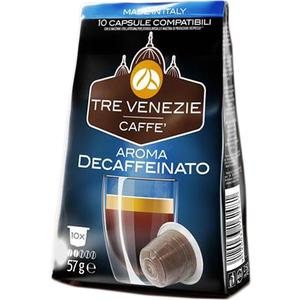 TRE VENEZIE CAFFE - AROMA DESCAFFEINATO 10 CÁPSULAS