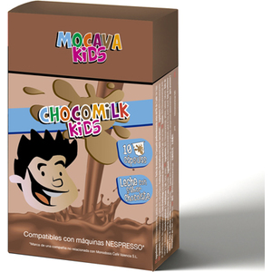 MOCAVA KIDS CHOCOMILK 10 CAPSULAS