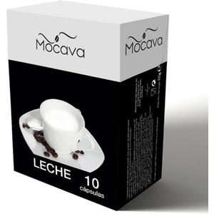 MOCAVA LECHE 10 CAPSULAS
