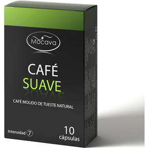 MOCAVA CAFE SUAVE 10 CAPSULAS