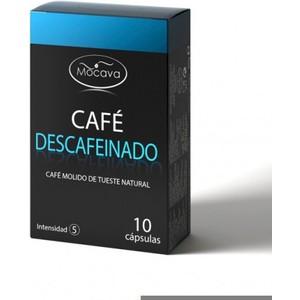 MOCAVA CAFÉE DESCAFEINADO 10 CAPSULAS