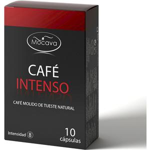 MOCAVA CAFE  INTENSO 10 CAPSULAS