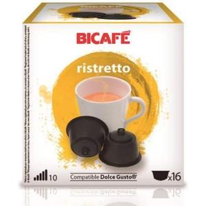 RISTRETTO 16 CÁPSULAS DE LA MARCA BI CAFÉ