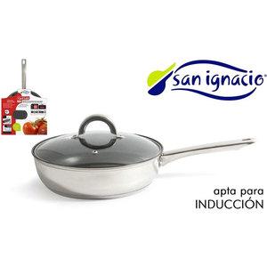 SARTÉN ACERO 24CM SAN IGNACIO